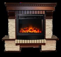 Обрамление Экстер Сланец Р25 махагон (Inter Flame)