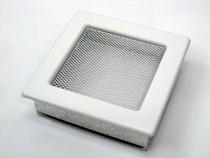 Решетка вентиляционная 17х17 белая KRATKI (Польша)