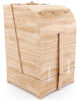 Фитобочка кедровая квадратная, 115*78/110*2,5 см
