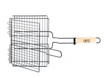 Решетка-гриль GIPFEL двойная 55х31х24х6см с антипригарным покрытием