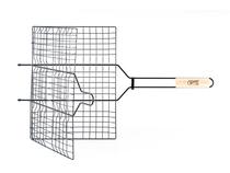 Решетка-гриль GIPFEL двойная 65х40х30см с антипригарным покрытием