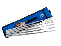 Набор шампуров GIPFEL 5945 6шт 45см с чехлом