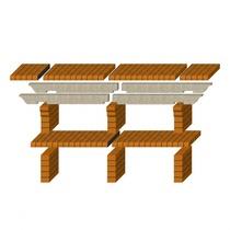 Стол дополнительный REF-784 для кирпичных грилей