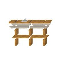 Стол дополнительный REF-786 для кирпичных грилей
