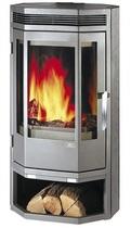 ABX Baltik 8 (серая сталь) печь-камин