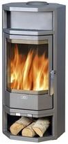 ABX Kiruna 4 (серая сталь) печь-камин