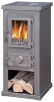 ABX Lappi (серая сталь) печь-камин