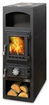 ABX Lund (черная сталь) печь-камин
