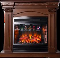 Портал Афина Р25 темный дуб 1060х1000х400 (Inter Flame)