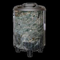 Атмосфера - чугунная печь банная Жадеит перенесенный рисунок 12-22 м3