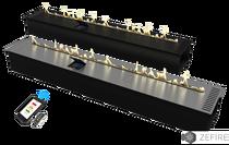 Биокамин Автоматический с ДУ 1600 ZeFire 183х1600х300 мм