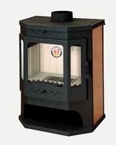 Бавария Призматик с плитой (EcoKamin) печь-камин