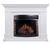 Портал California (Jupiter/Dioramic28) белый 1280х1005х380 (Royal Flame)