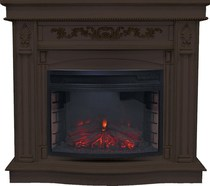 Портал пристенно-угловой Cardinal D25 венге 1110х980х450 (Royal Flame)