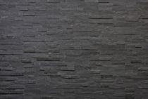 3D-панели из сланца натурального, цвет: черный, м2
