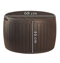 Стол-сундук Circa Wood Box 140L коричневый (Израиль)