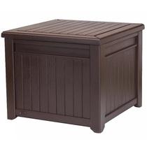 Стол-сундук Cube Wood Box 208L коричневый (Израиль)