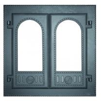 Дверка каминная застекленная ДК-6С, 500*500мм