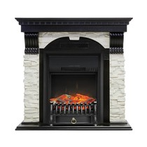 Портал Dublin арочный сланец белый STD венге 1020х975х352 (Royal Flame)