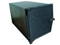 Духовка стальная с чугунной дверцей ДХ1,5-ДТ4, 250*280*480