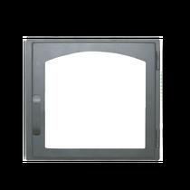 Дверка каминная ДЕ 424-1А, 424*395мм