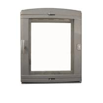 Дверка каминная уплотненная Pisla НТТ-526 с регул. поддува, 365*450мм
