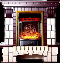 Обрамление Экстер-М STD махагон (Inter Flame)