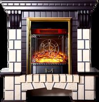 Портал Экстер-М STD темный дуб 1000х1060х405 (Inter Flame)