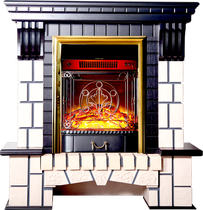 Портал Экстер-М STD венге 1000х1060х405 (Inter Flame)