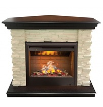 Обрамление угловое ELFORD HL античный дуб (Real Flame)