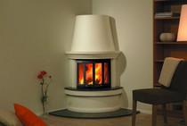 Nordpeis Geilo угловой печь-камин