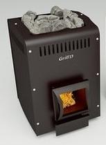 Grill D Optima 150 (short, black) печь банная