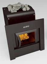 Grill D Optima 250 (window, black) печь банная