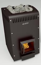 Grill D Optima 250 (short, black) печь банная