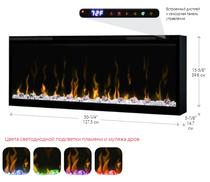 Ignite XLF50 Dimplex (127 cм) электрокамин встраиваемый