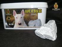ШЕРВУД Кальцит Сталистый - камень для бани 14,3 кг