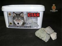 СТАЯ Роговик Серебристый - камень для бани 11,3 кг