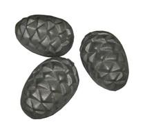 """Камень для каменок чугунный овальный """"Кедровая шишка"""""""
