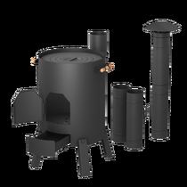Печь КазанОК с дымоходом для казанов от 8 до 12 литров