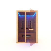 Инфракрасная сауна 2-х местная (кедр) с керамическими излучателями, 135*105*200 см