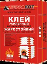 Клей жаростойкий усиленный «Терракот», 5 кг