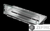 Прямоугольный контейнер со стеклом для биотоплива 500 ZeFire 65х500х200 мм