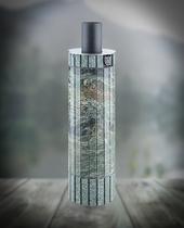 Дымоход FERINGER Конвектор Жадеит перенесенный рисунок + бучардированный жадеит L 1 м