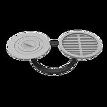 """Комплект 400 (плита+решетка-гриль) для печи """"Берель 400К"""""""