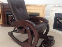 Кресло-качалка (античный дуб)