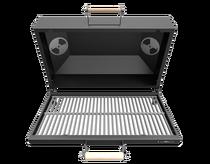 Крышка Гриль-Барбекю Grillver с чугунной решеткой для мангалов серии Искандер
