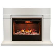 Обрамление LINDELSE 3D 26 белый дуб (Real Flame)