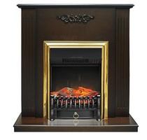 Портал Lumsden STD махагон коричневый антик 900х900х280 (Royal Flame)