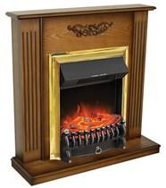 Портал Lumsden STD дуб антик 900х900х280 (Royal Flame)