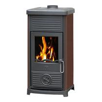 MAESTRAL N (Plamen) коричневая чугунная печь-камин